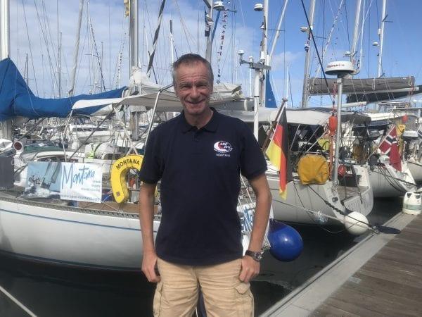 skipper Markus Bocks Swan 48 Montana