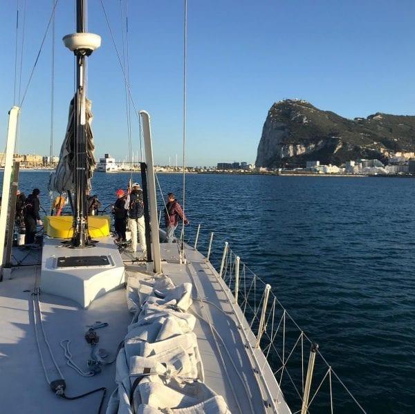 5 day mile builder Gibraltar Cagliari