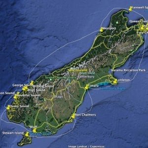 South Island Circumnavigation