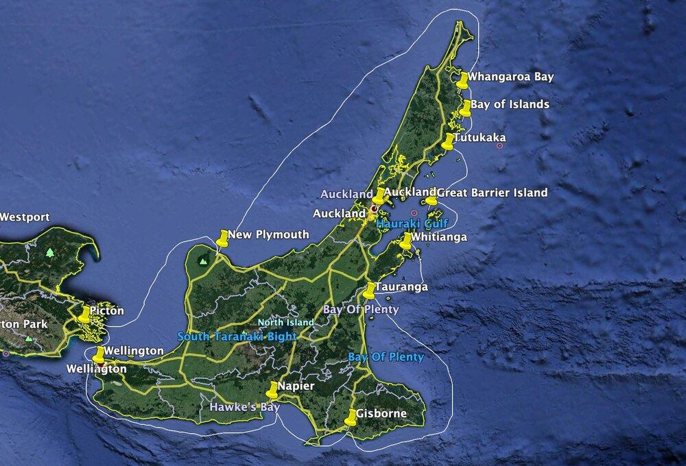 North Island Circumnavigation