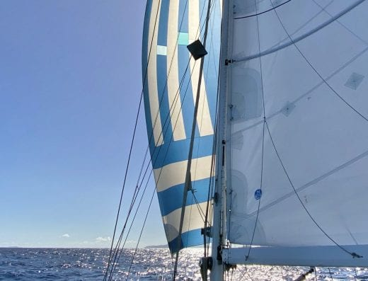 Sailing Martinique to Grenada