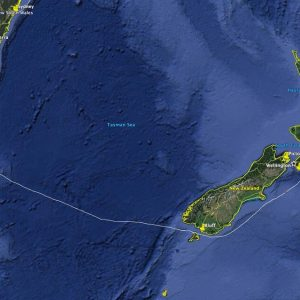 Auckland to Hobart